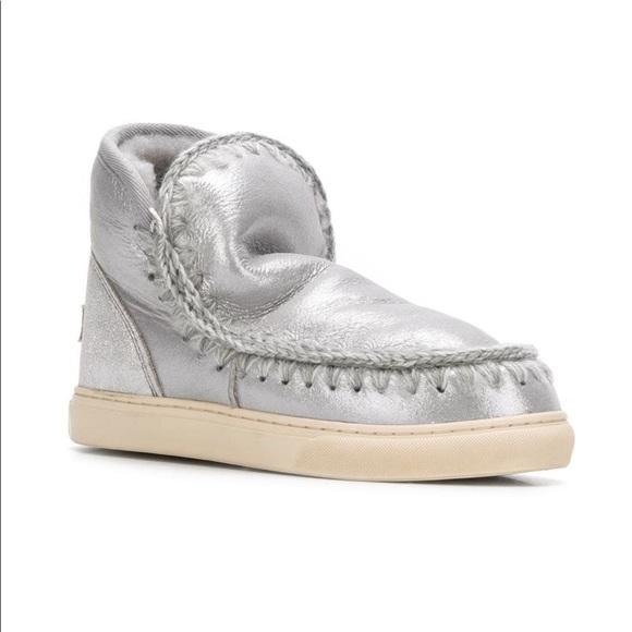 Mou Shoes   Mou Eskimo Sneaker Boots
